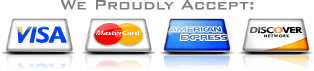 We proudly accept credit cards for payment - Acoustic Tile Cleaning Services Company for Acoustic Tile Cleaning Services in Raleigh NC